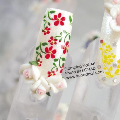 Flower·3D White