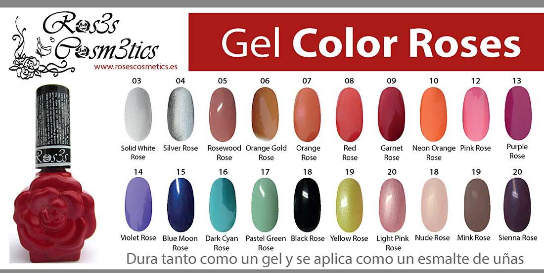 color gel ros3s cosmetics