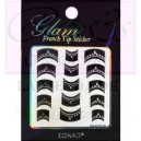 Glam sticker manicura francesa. KGS 06