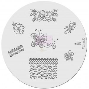 Placa de diseños. m50