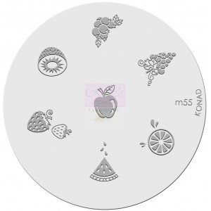 Placa de diseños. m55