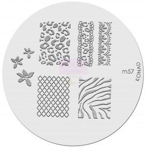 Placa de diseños. m57