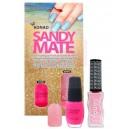 Esmalte de arena mate KONAD - 03 Pink