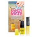 Esmalte de arena mate KONAD - 04 Yellow